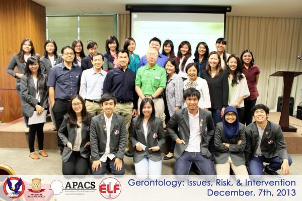 Dokumentasi seminar gerontologi - Experiencing Life Foundation